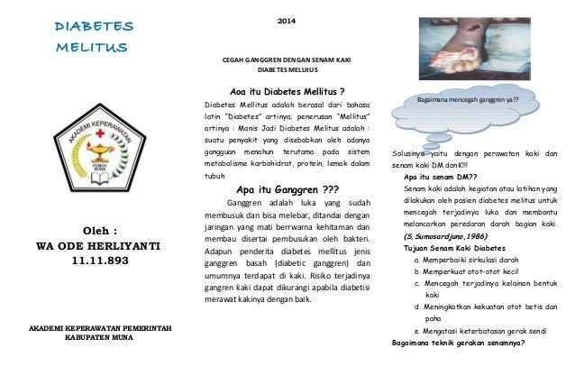 Pengobatan dan Perawatan Penyakit Diabetes Melitus