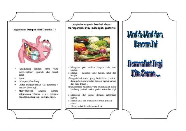 Leaflet Diet Gastritis