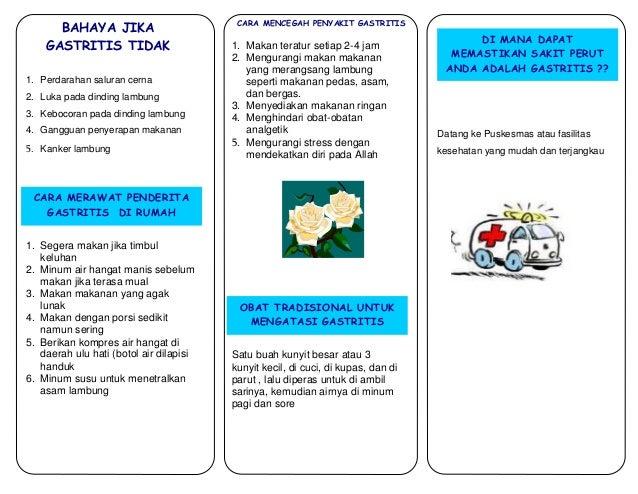 Laporan Pendahuluan Gastritis Lengkap, Download file dalam bentuk pdf dan doc