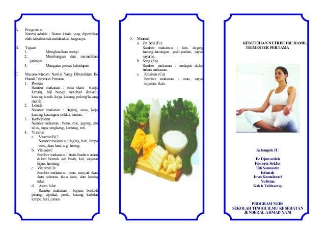 Leaflet N Utrisi Kehamilan Seorang Ibu 2