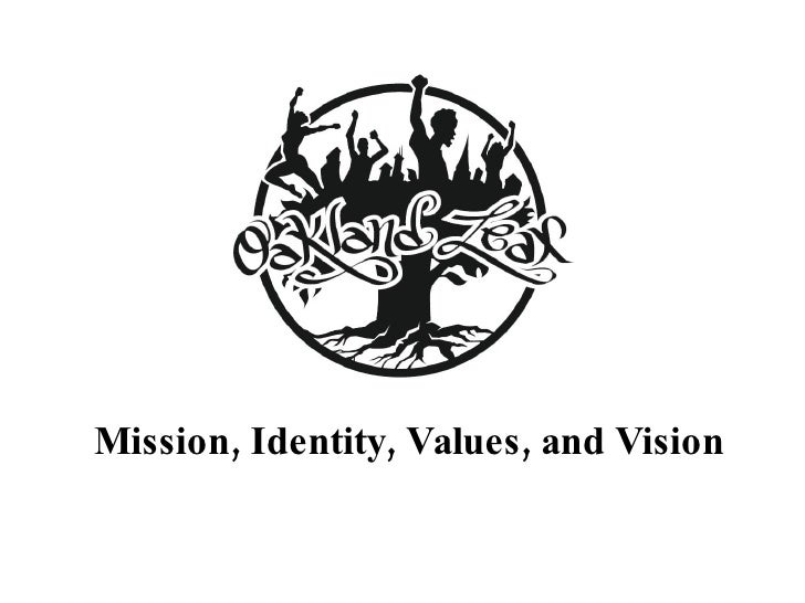 Mission, Identity, Values, and Vision