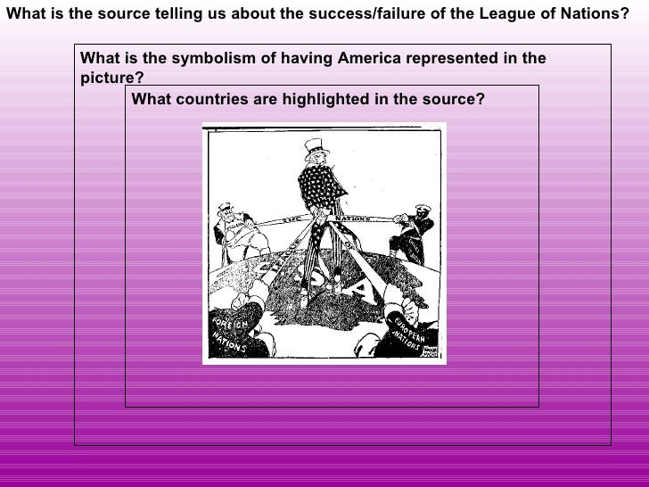 An analysis of the successes and failures of the league of nations in the 1920s