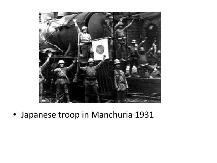league of nations manchuria