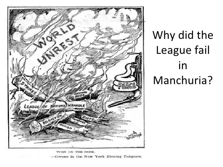 An overview of the weimars failure in the history of the league of nations