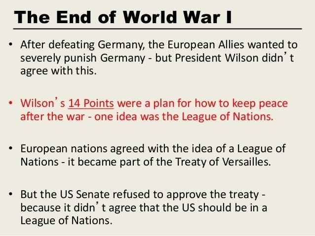World War I reparations