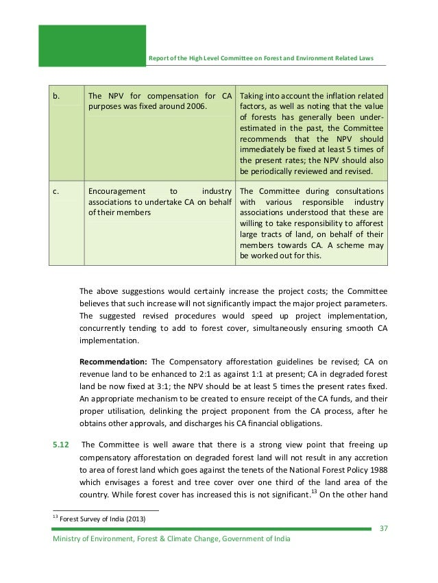 report of environment and forests Report of the united nations conference on environment and development conservation and sustainable development of all types of forests preamble (a.