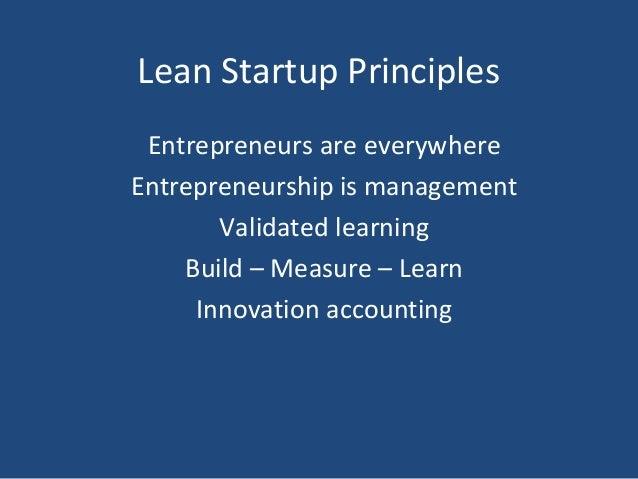 Lean Startup Methodology Slide 2