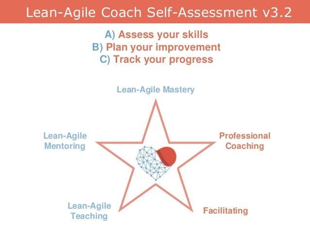 Lean-Agile Coach Self-Assessment v3.2 Lean-Agile Mentoring Lean-Agile Teaching Professional Coaching Facilitating Lean-Agi...