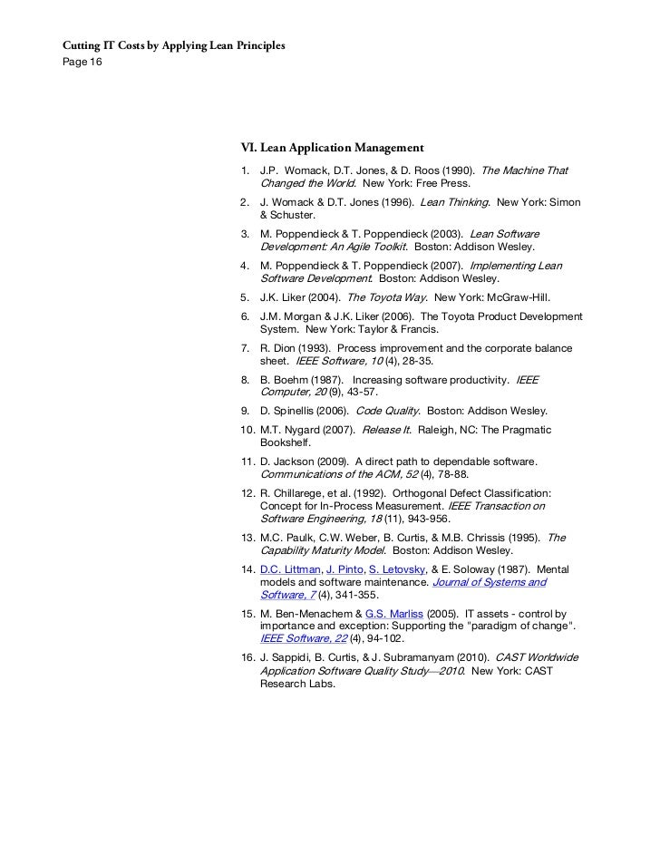 applicability of lean concepts in service environment management essay A system of management for organizational improvement function and contribute to a specific aim—a service the fifth component in the system of management.