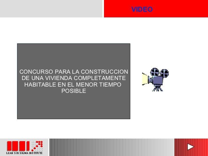 VIDEO CONCURSO PARA LA CONSTRUCCION DE UNA VIVIENDA COMPLETAMENTE HABITABLE EN EL MENOR TIEMPO  POSIBLE