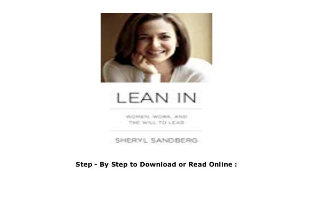 lean in sheryl sandberg pdf online free