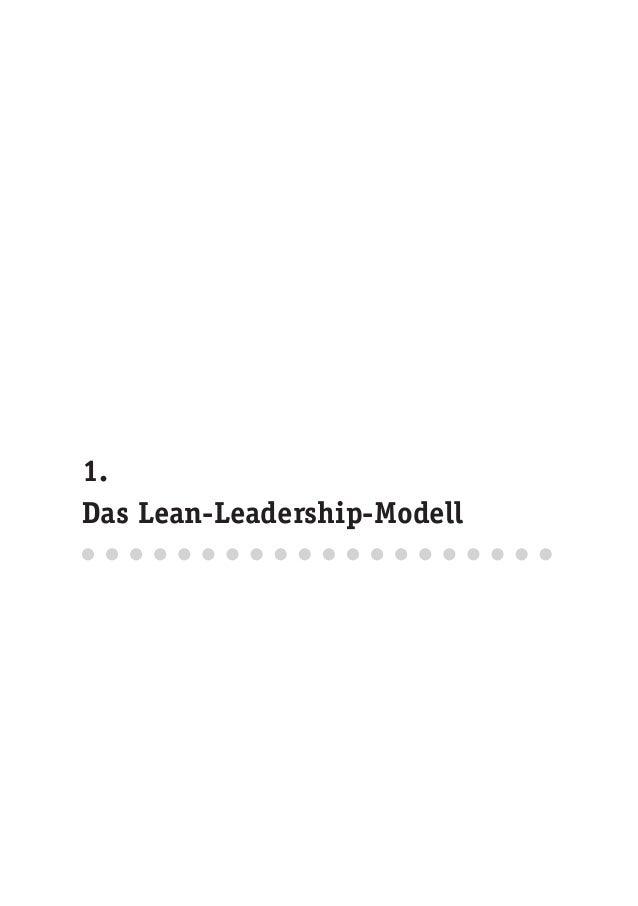 1. Das Lean-Leadership-Modell