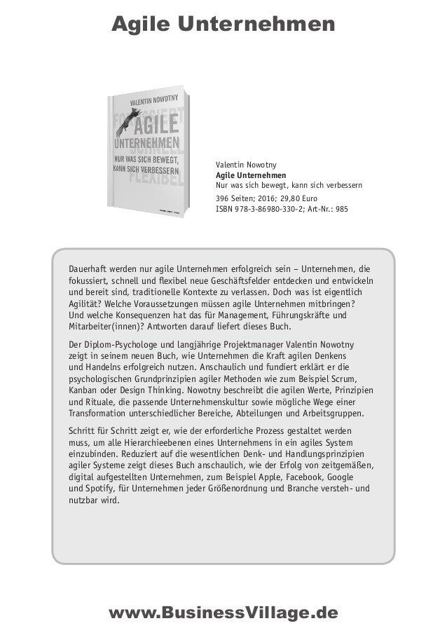Agile Unternehmen Dauerhaft werden nur agile Unternehmen erfolgreich sein – Unternehmen, die fokussiert, schnell und flexi...