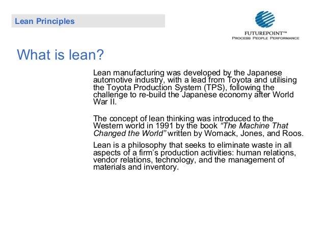 Lean Principles