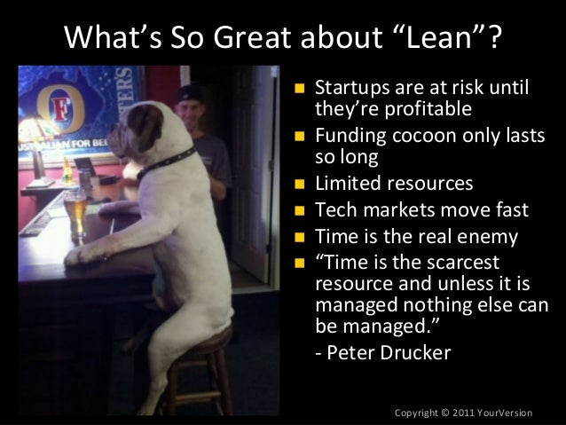 Lean Product Management at Silicon Valley Product Camp by Dan Olsen Slide 3