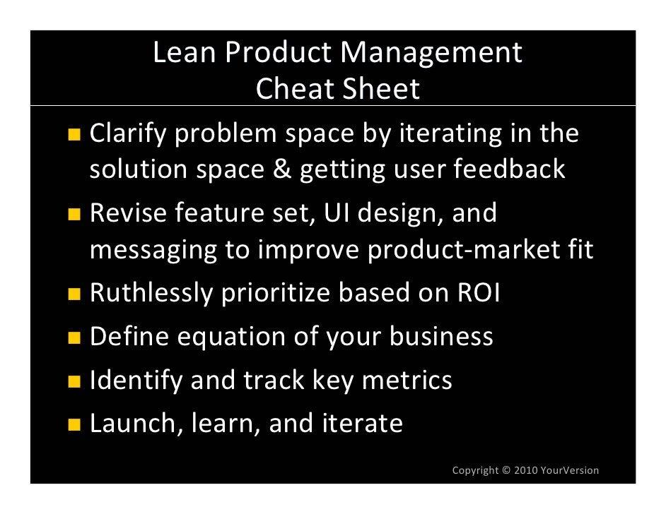 LeanProductManagement             CheatSheet Clarifyproblemspacebyiteratinginthe solutionspace&gettinguserf...
