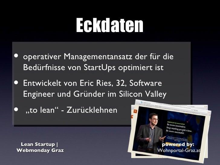 Lean startup | Webmonday Graz Slide 2