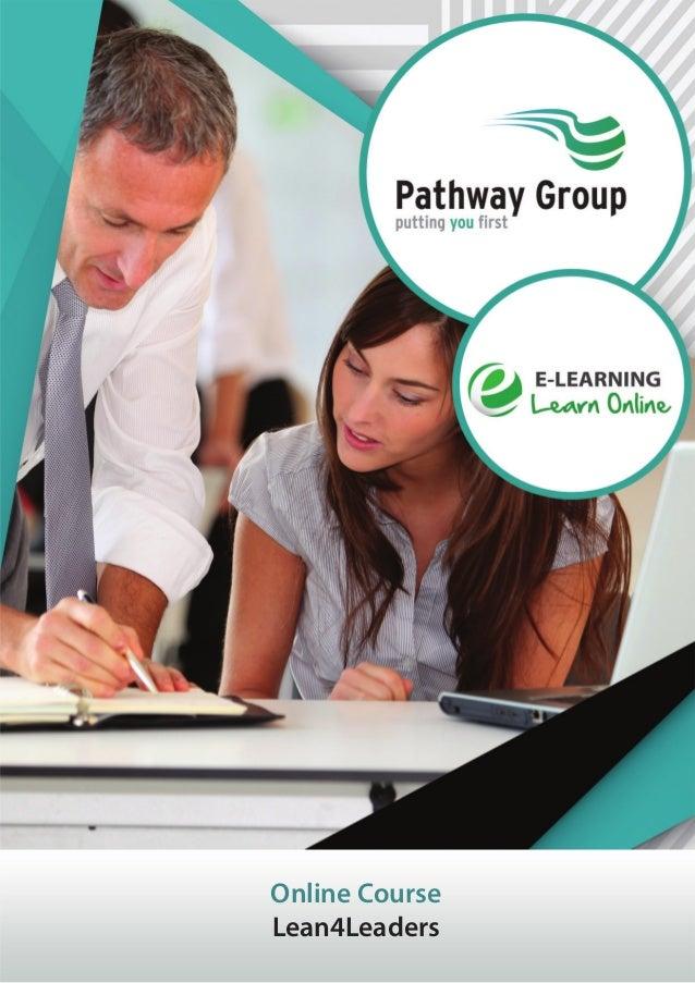 Online Course Lean4Leaders