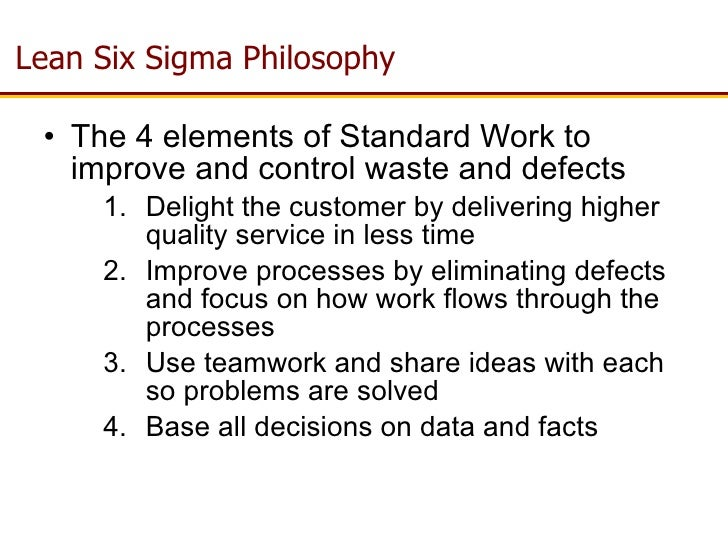 lean sigma on line training from searchtec  overview 20