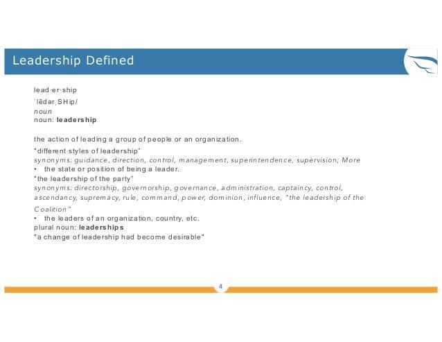 Lean agile leadership