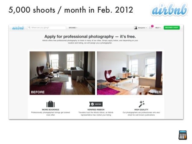 5,000 shoots / month in Feb. 2012