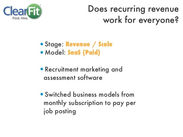 •Stage: Revenue / Scale•Model: SaaS (Paid)•Recruitment marketing andassessment software•Switched business models frommonth...
