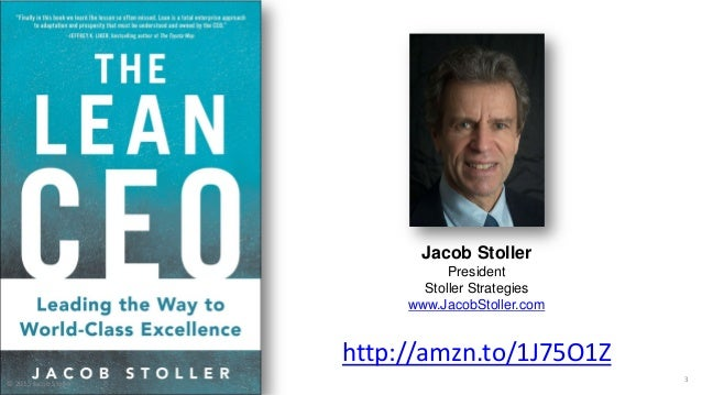 Lean and the Corporate Agenda with Guest Jacob Stoller Slide 3