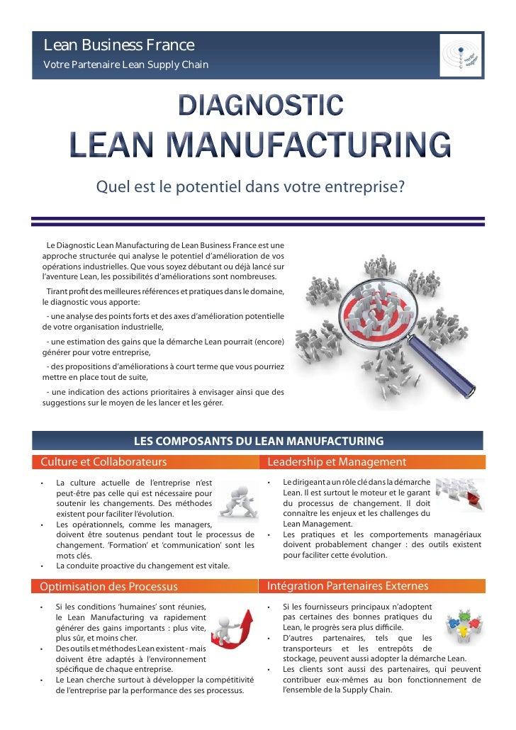 Lean Business France     Votre Partenaire Lean Supply Chain                     Quel est le potentiel dans votre entrepris...