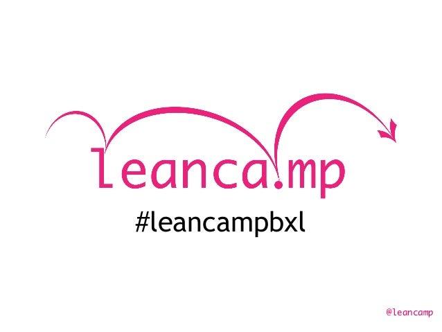 @leancamp #leancampbxl