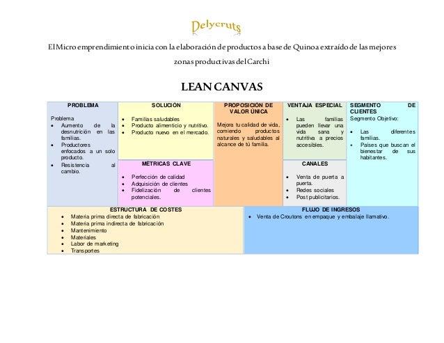 El Micro emprendimiento inicia con la elaboración de productosa base de Quinoa extraído de lasmejores zonasproductivasdel ...
