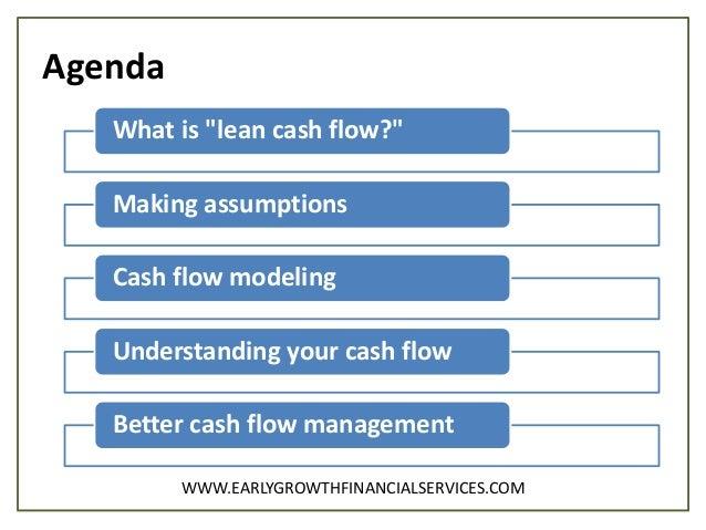 lean cash flow simple steps to better cash management