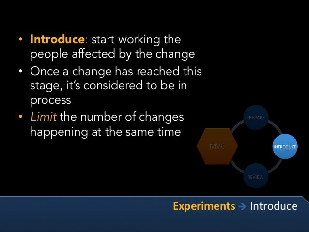 Kotter's 8-Step Process for Leading Change • Over decades, Dr. Kotter observed the behavior and results of hundreds of or...