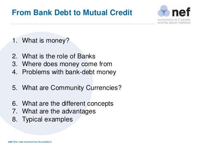 Money as a Social Technology - Leander Bindewald (nef) Slide 3