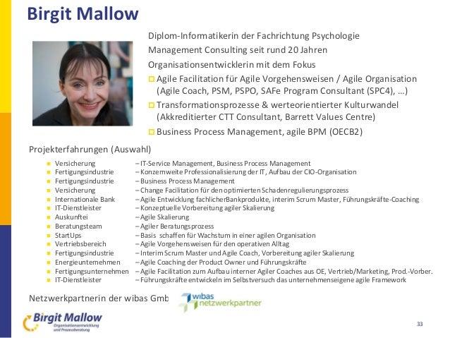 Projekterfahrungen (Auswahl)  Versicherung – IT-Service Management, Business Process Management  Fertigungsindustrie – K...