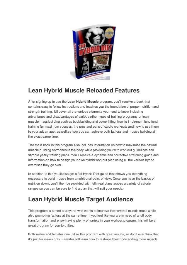 2 Lean Hybrid Muscle