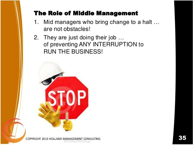 Powerpoint created for Holland Management Consultant