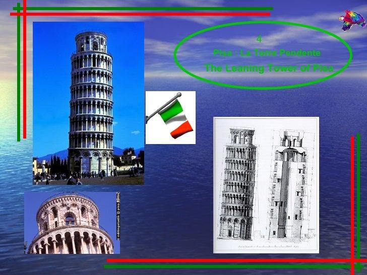 The Leaning Tower of Pisa 4  Pisa : La Torre Pendente