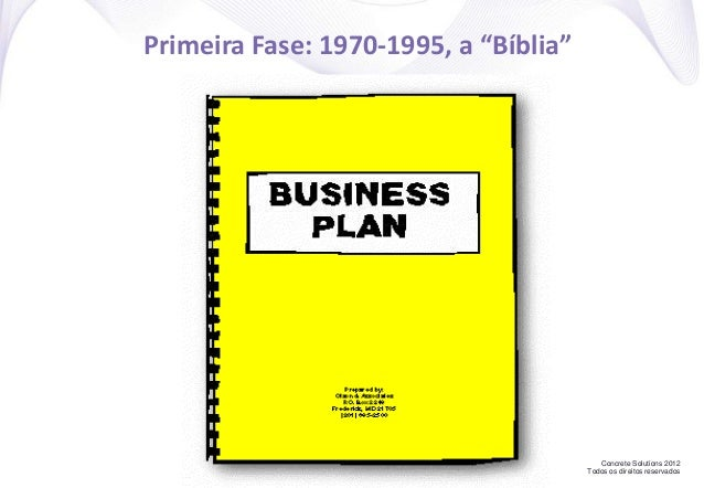 """Concrete Solutions 2012 Todos os direitos reservados Primeira Fase: 1970-1995, a """"Bíblia"""""""