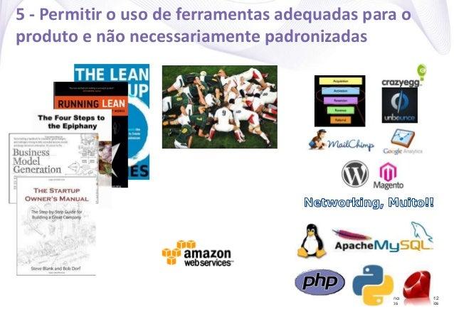 Concrete Solutions 2012 Todos os direitos reservados 5 - Permitir o uso de ferramentas adequadas para o produto e não nece...