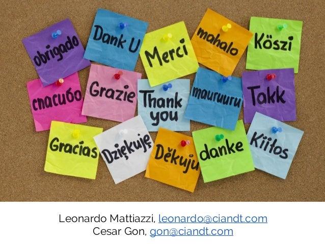 Leonardo Mattiazzi at the Lean IT Summit 2013