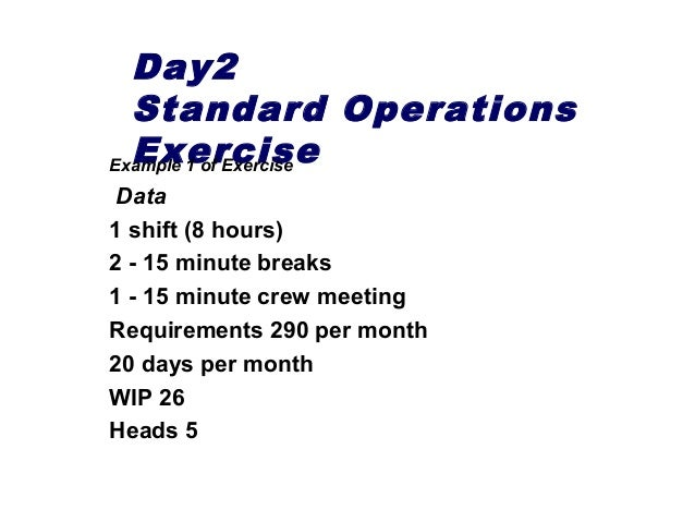 Overview of 3 day Lean & Kaizen Course Content