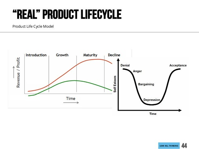 """LEANKILLTHINKING 44 Product Life Cycle Model """"REAL"""" PRODUCT LIFECYCLE"""