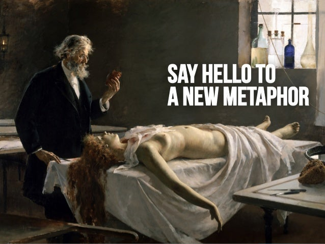 LEANKILLTHINKING 46 SAY HELLO TO A NEW METAPHOR