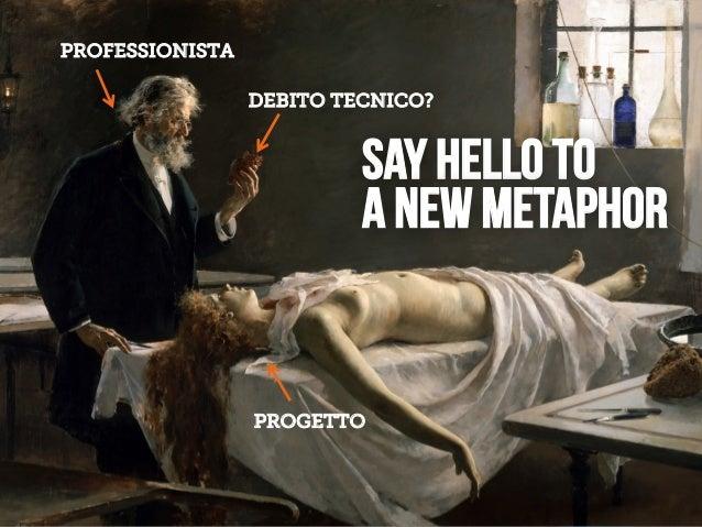 LEANKILLTHINKING 47 SAY HELLO TO A NEW METAPHOR PROGETTO PROFESSIONISTA DEBITO TECNICO?