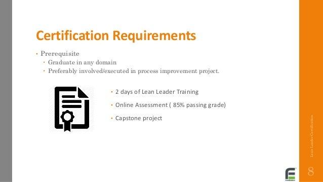 certification lean healthcare leader program