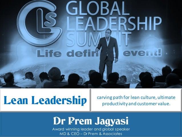 Dr Prem Jagyasi | DrPrem.com Dr Prem Jagyasi Award winning leader and global speaker MD & CEO – Dr Prem & Associates carvi...