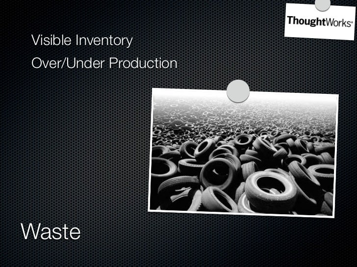 Overproduction     7 Wastes of Manufacturing