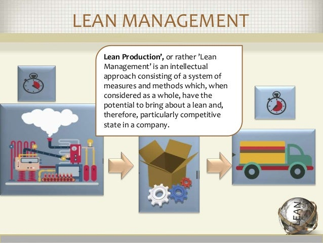 lean case study operations