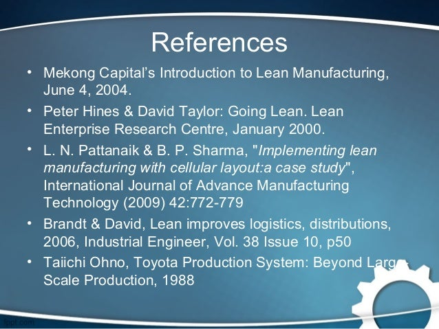lean production a jaguar case study This case study focuses on the way in which jaguar, one of the world's most  prestigious car manufacturers, has employed lean manufacturing processes.