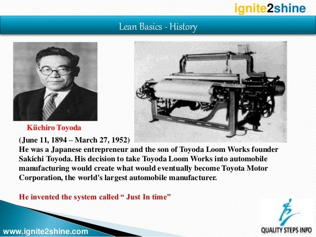 Lean Lean Manufacturing Lean Production Toyota Production System